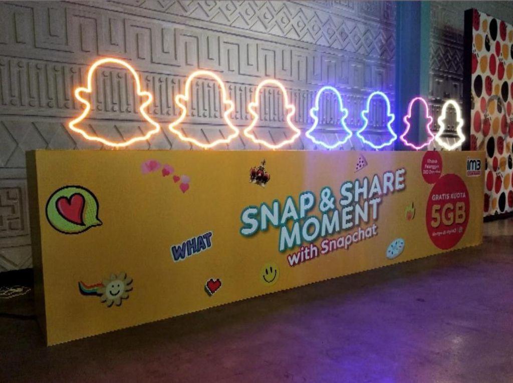 IM3 Ooredoo Tantang Milenial Lewat Snapchat Berhadiah Smartphone