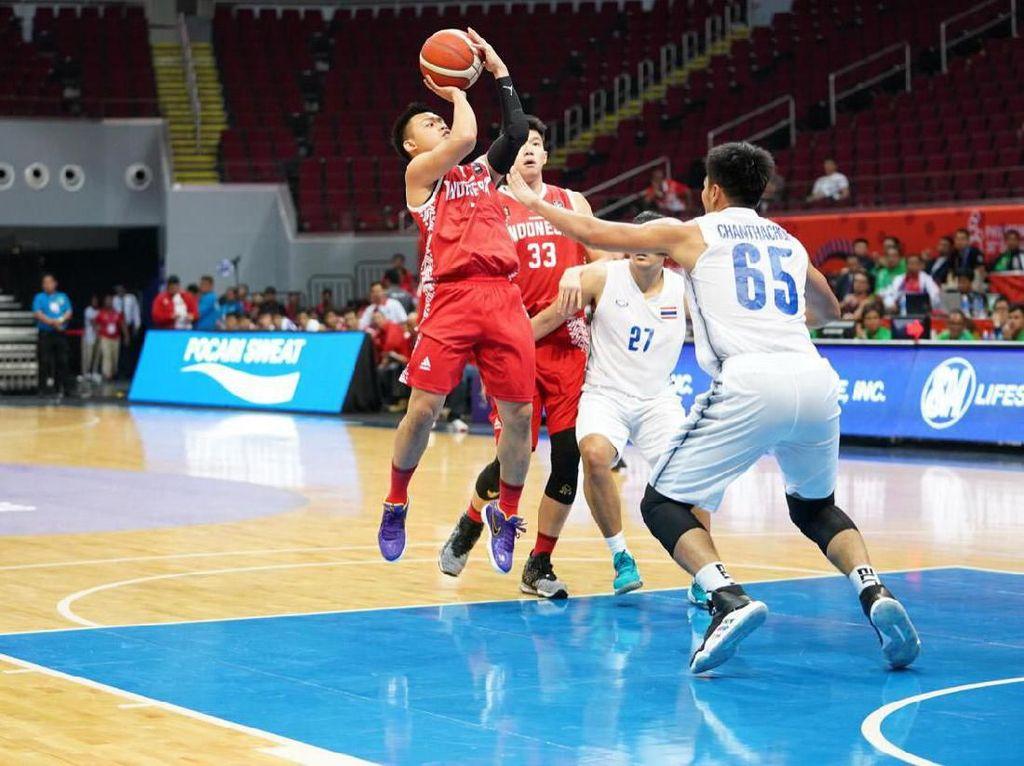 Indonesia Dikalahkan Thailand 76-98 di Laga Pertama SEA Games