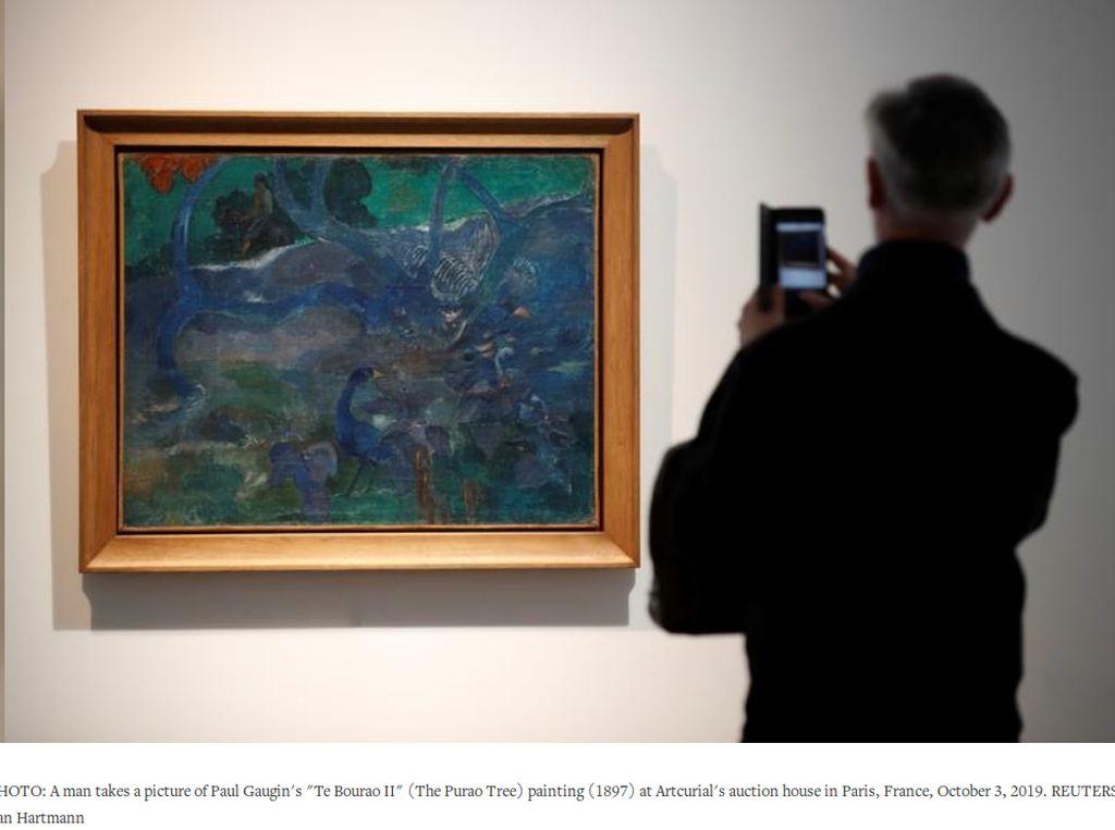 Keren! Lukisan Burung dan Bunga Terjual Rp 148 Miliar di Paris