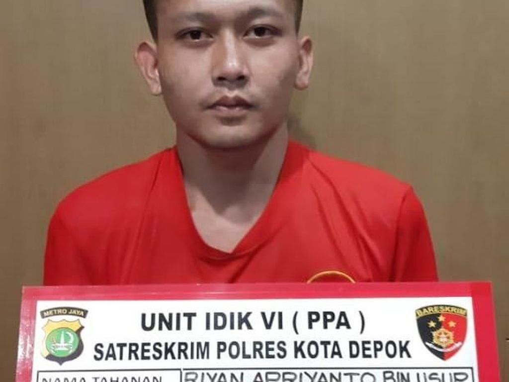Polisi Tangkap Pelaku Begal Payudara di Depok