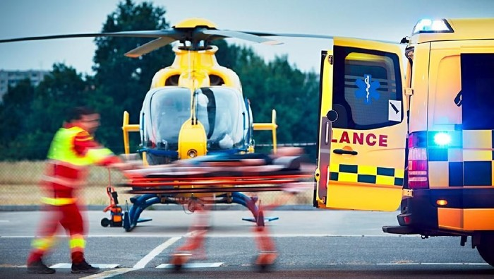 Evakuasi dengan helikopter bisa mempercepat penanganan pasien emergency (Foto: iStock)