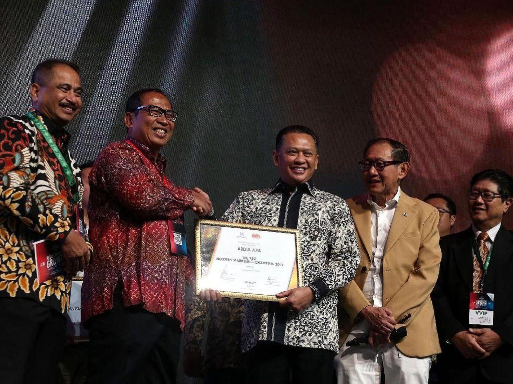 Suasana Ajang The Best Industry Marketing Champion 2019