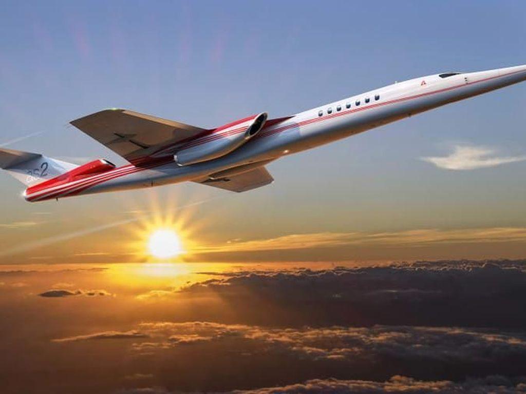 Pesawat Supersonik Komersial Segera Mengudara?