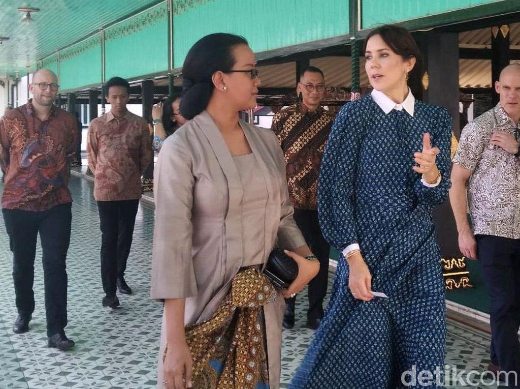 Tak Hanya ke Keraton, Putri Mahkota Denmark Juga Kunjungi Puskesmas Yogya