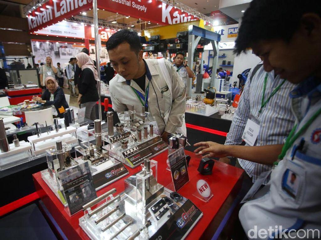 Beragam Produk Manufaktur Dipamerkan di JIExpo Kemayoran