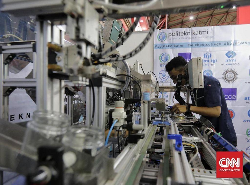 Industri Manufaktur Kena Dampak Pandemi, Kemenperin Evaluasi Kebijakan