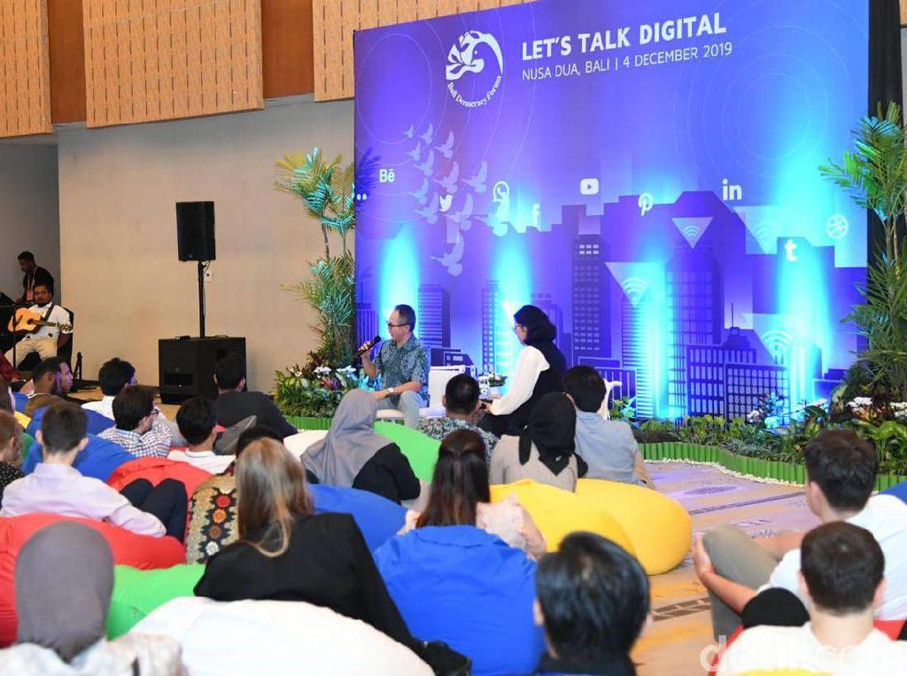 Bali Democracy 2019, Wamenlu Berpesan ke Milenial yang Superaktif di Medsos