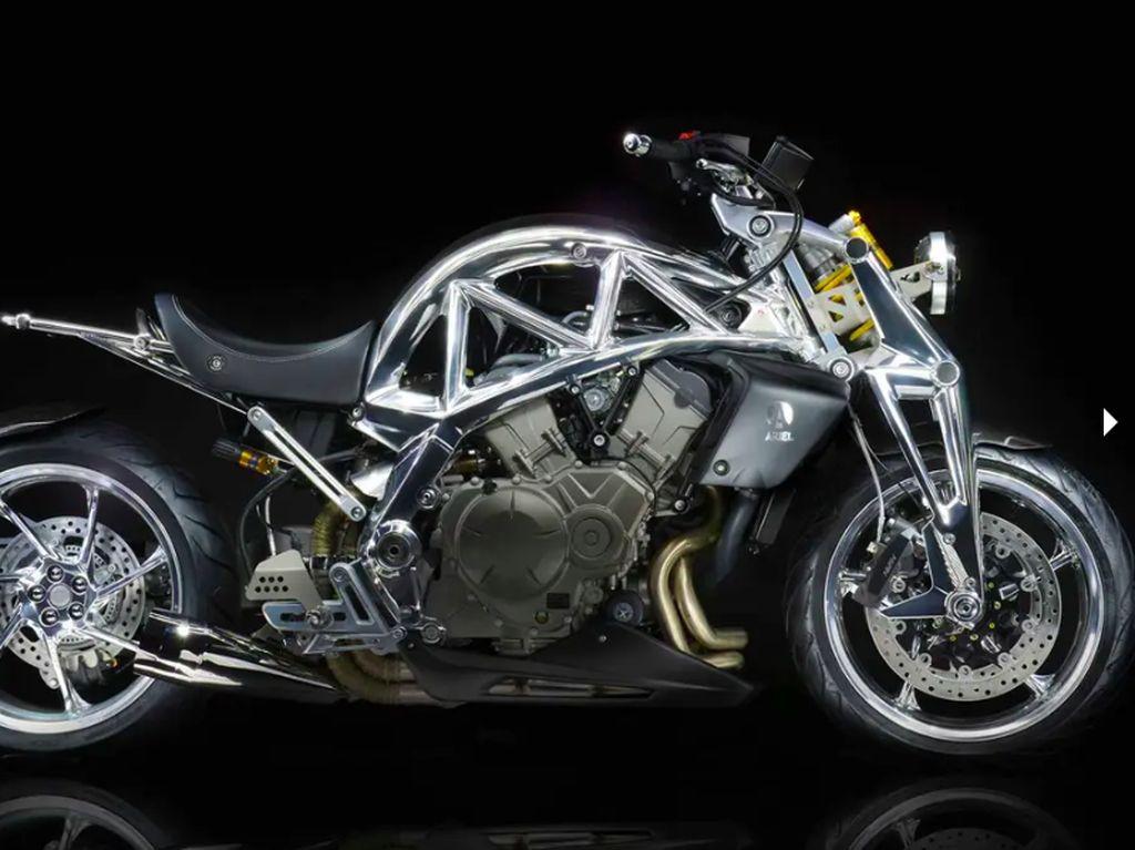 Ariel Kenalkan Motor New Ace Iron Horse, Keren Abis!