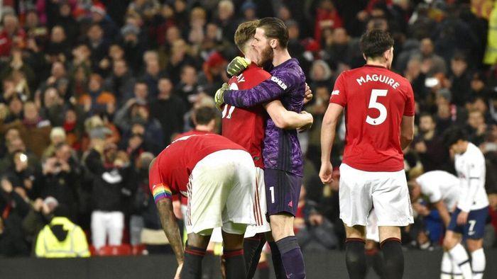 Manchester United diminta tampil konsisten usai mengalahkan Tottenham Hotspur (AP Photo/Rui Vieira)