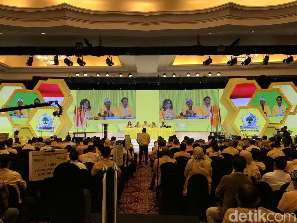 Hari Ke-3 Munas, Golkar Rapat Komisi Bahas Struktur-Pernyataan Politik