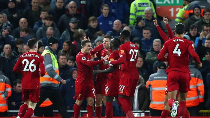 Liverpool sudah 32 laga tak terkalahkan di Liga Inggris (Clive Brunskill/Getty Images)