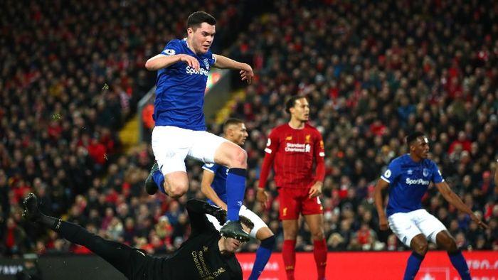 Gawang Liverpool baru nirbobol dua kali sepanjang Liga Inggris musim ini (Clive Brunskill/Getty Images)