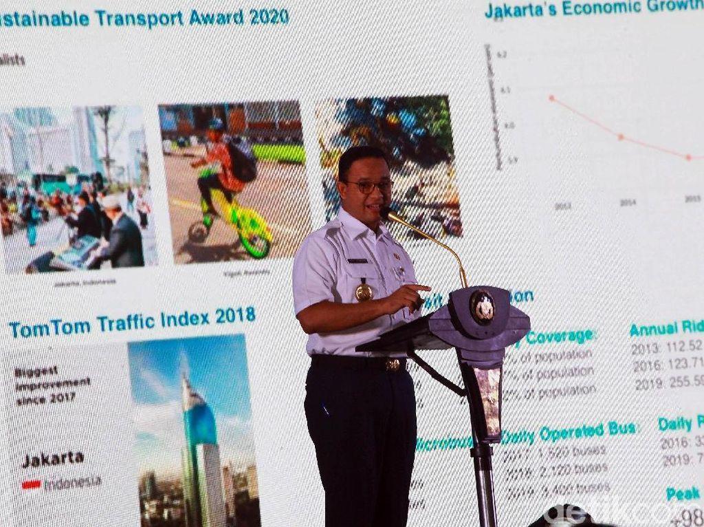 Anies Titip Pesan soal Integrasi Transportasi ke Dirut Baru TransJ