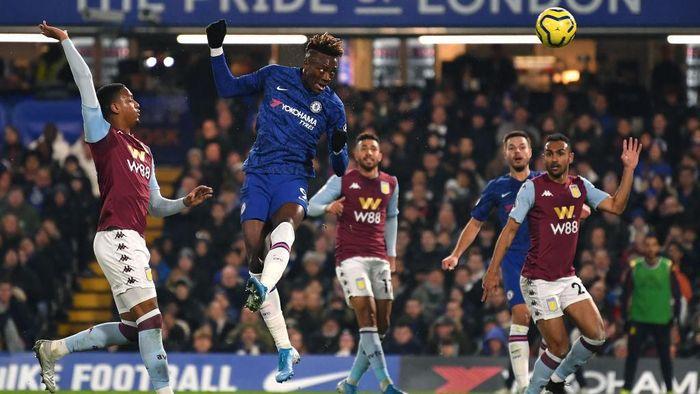 Chelsea menang tipis 2-1 atas Aston Villa. (Foto: Justin Setterfield/Getty Images)