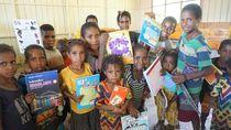 Kabar Baik Buat Pedalaman Papua Itu Berupa Perpustakaan
