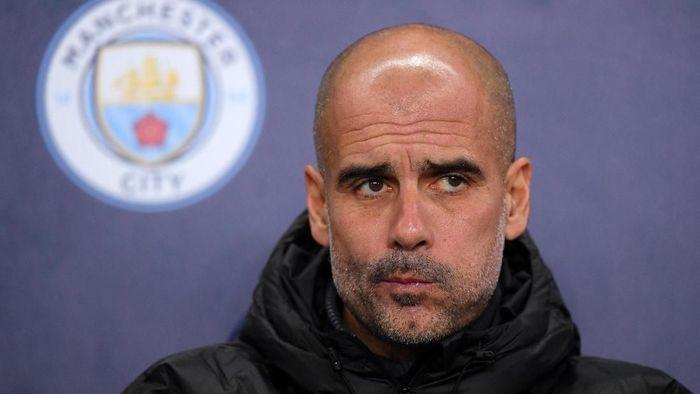Pep Guardiola sempat salah menyebut Manchester City jadi Bayern Munich (Foto: Laurence Griffiths/Getty Images)