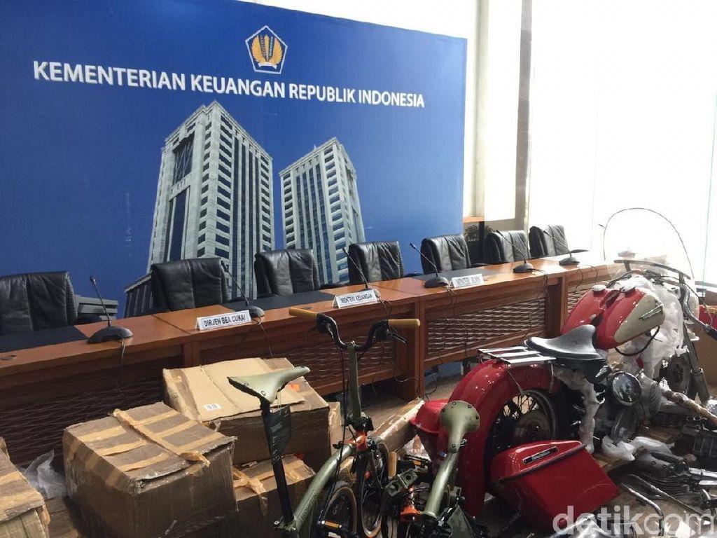 PMJ Berkoordinasi dengan Bea Cukai Usut Penyeludupan Harley