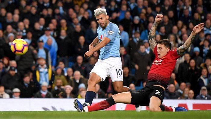 Manchester City vs Manchester United panaskan Liga Inggris pekan ke-16. (Foto: Laurence Griffiths / Getty Images)
