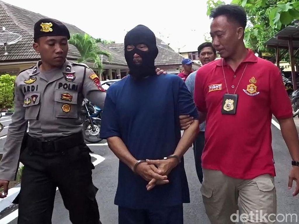 Pakai Sebo, Pembakar 2 Pria Hidup-hidup di Rembang Digiring Polisi