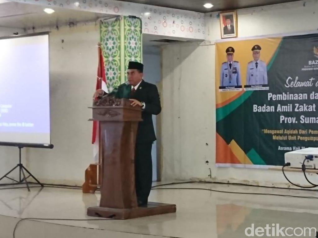 Gubernur Edy Pindahkan Kantor Walkot Medan ke Asrama Haji