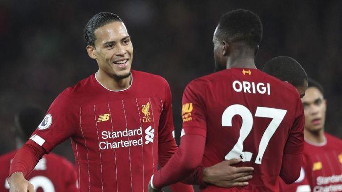 Virgil van Dijk menganggap rekor Liverpool tiada artinya tanpa gelar juara (AP Photo/Jon Super)