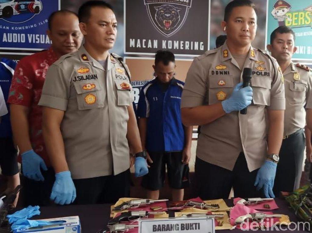 Polisi Gerebek Rumah Produksi Senpi Ilegal di OKI Sumsel