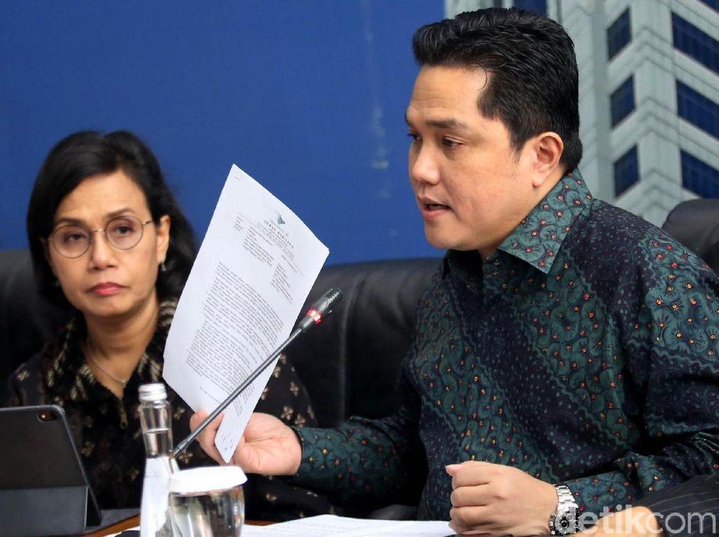 Instruksi Jokowi ke Sri Mulyani Cs: Bereskan Skandal Jiwasraya-Asabri