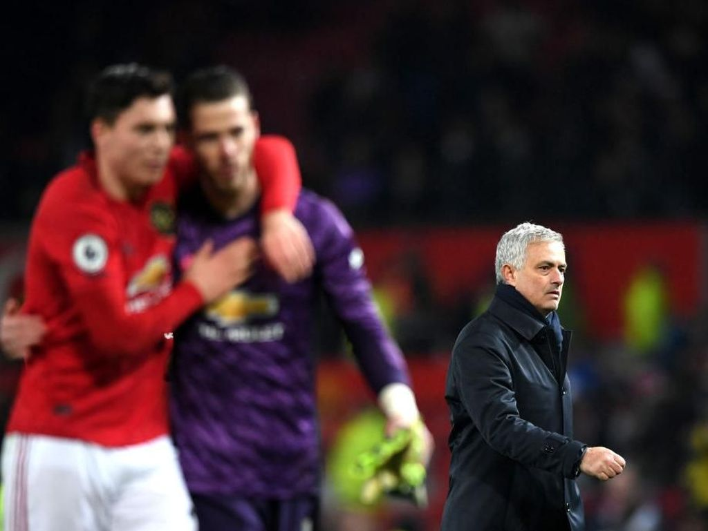 Mourinho Masih Belum Mampu Lagi Taklukkan Old Trafford