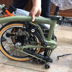 Harga Sepeda Brompton Ilegal yang Diangkut Garuda Rp 52 Juta!