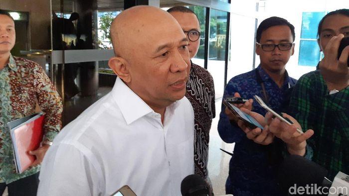 Foto: Menteri Koperasi dan UKM Teten Masduki (Achmad Dwi Afriyadi/detikcom)