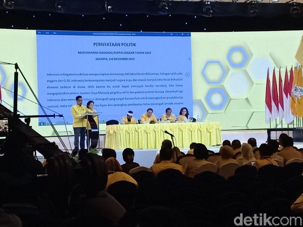 Golkar Dorong UU Pembinaan Ideologi Pancasila-UU Ibu Kota Negara