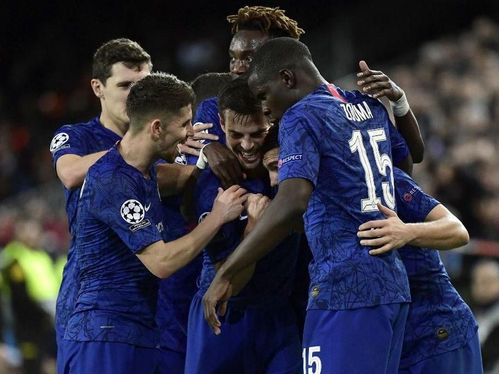 Hasil Liga Inggris: Chelsea Menang Tipis Atas Aston Villa