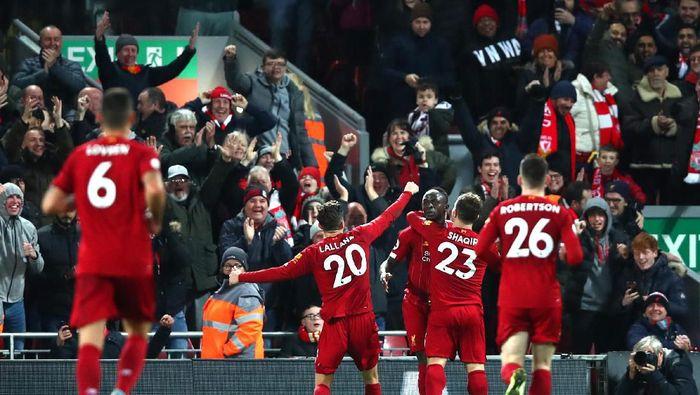 Liverpool kukuh di puncak klasemen Liga Inggris. (Foto: Clive Brunskill/Getty Images)