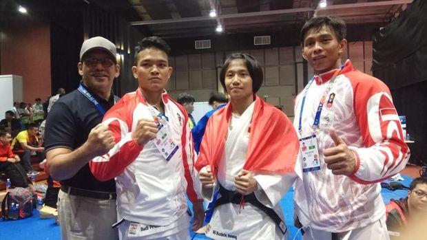 Cabor sambo ditarget meraih medali emas pada hari keenam SEA Games 2019.