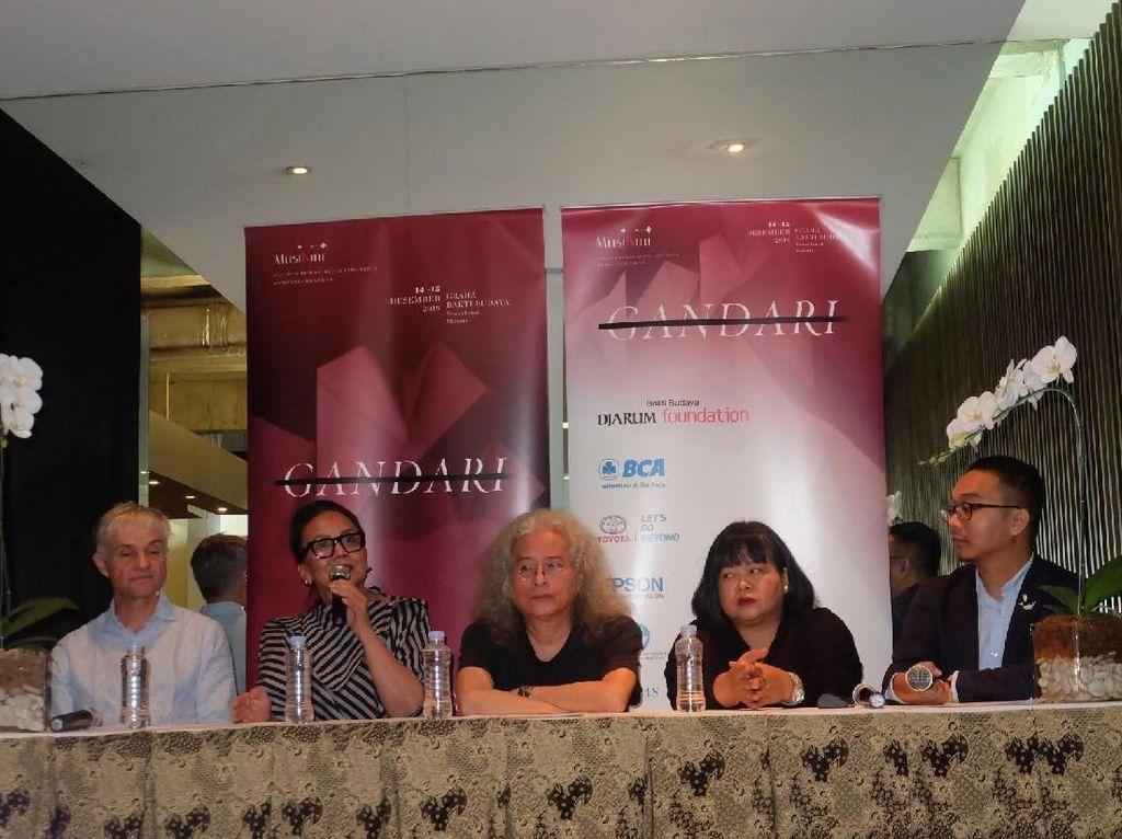 Tampil Kontemporer, Opera Gandari Tak Sekadar dari Cerita Mahabarata