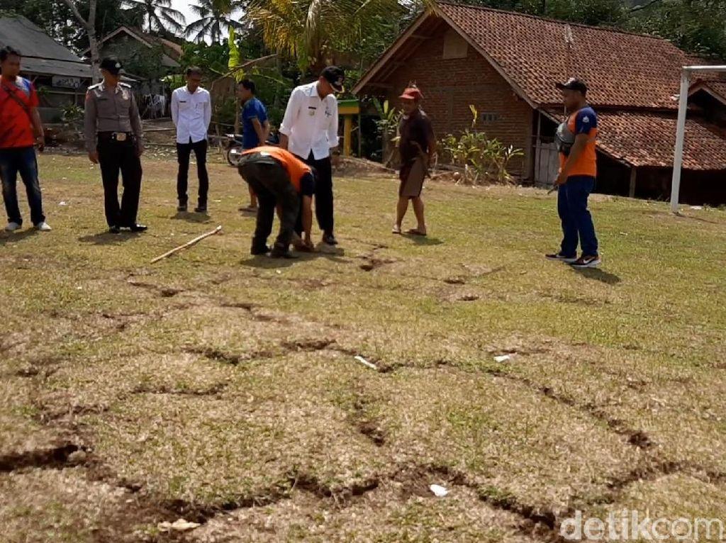BPBD Terjunkan Tim Geologi Teliti Tanah Bergerak di Tasikmalaya