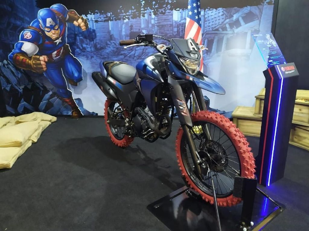 Yamaha Berjubah Superhero, Nmax Jadi Spiderman