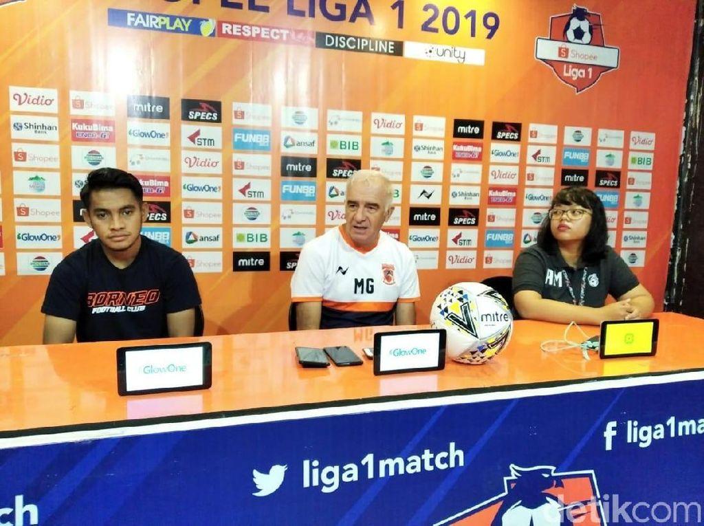 Borneo FC Memburu Posisi Runner-up