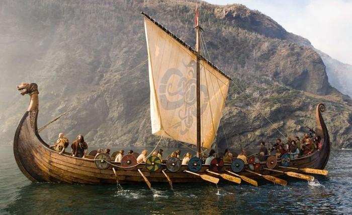 Ilustrasi kapal Viking. Foto: Science Alert