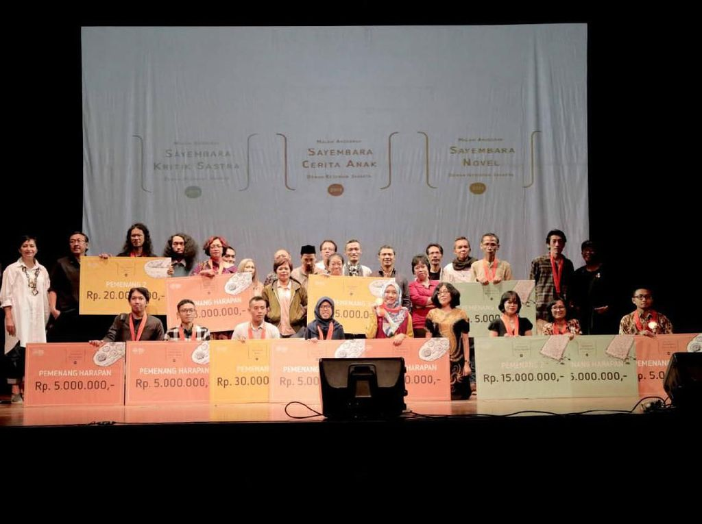 Aib dan Nasib Juarai Sayembara Novel DKJ 2019