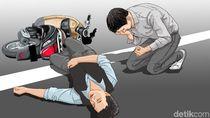 Fakta-fakta Tabrakan Maut Mobil Vs Vespa Hilangkan 1 Nyawa