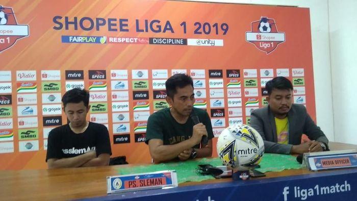 PSS Sleman tidak akan lengah sekalipun Persib Bandung sedang tersendat. (Foto: Usman Hadi)