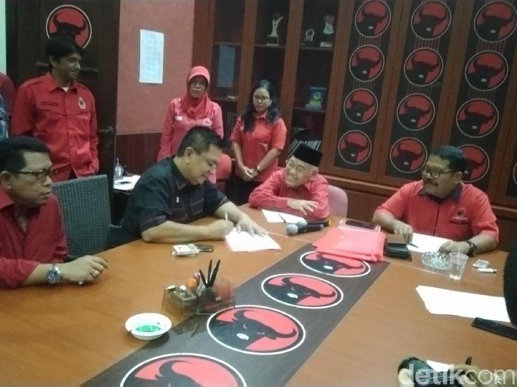 35 Orang Daftar Kepala Daerah Via PDIP Jateng, Gibran Belum