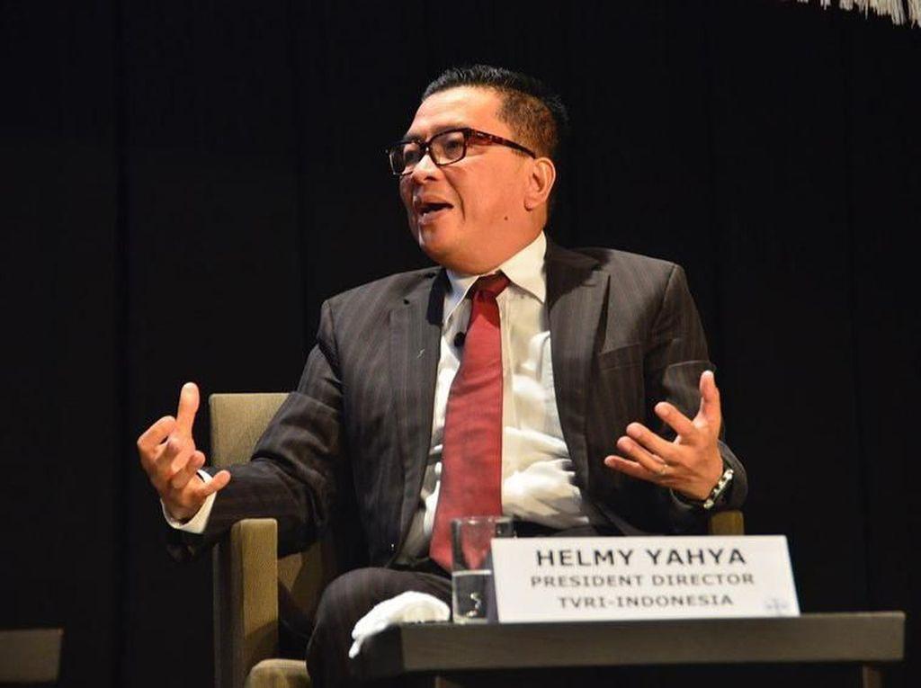 Di Bawah Helmy Yahya, Laporan Keuangan TVRI Pertama Kali Dapat WTP