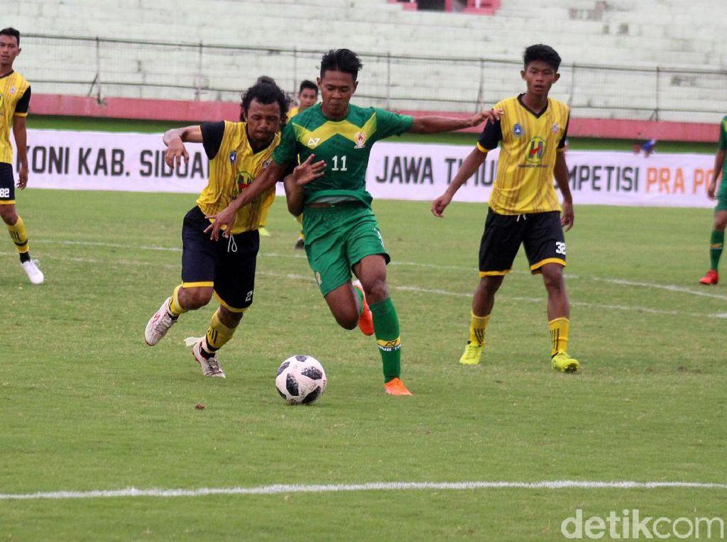 Tim Pra Pon Jatim Lumat Kalsel 6-1