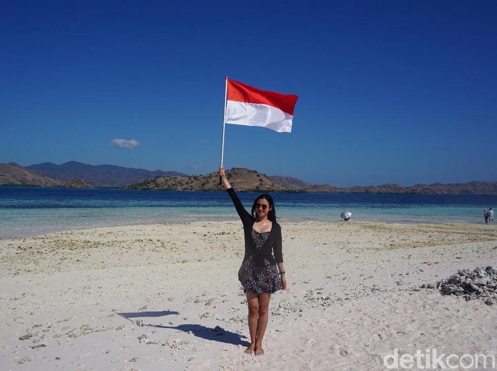 Foto: Terik tapi Menarik, Ini Taka Makassar Labuan Bajo