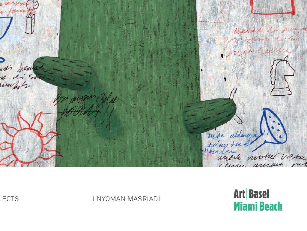 I Nyoman Masriadi Mejeng Karya di Art Basel Miami 2019