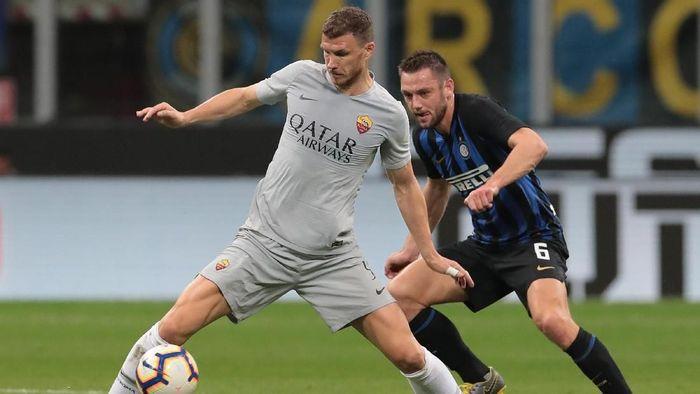 Inter Milan akan menjamu AS Roma di Liga Italia akhir pekan ini. (Foto: Emilio Andreoli / Getty Images)