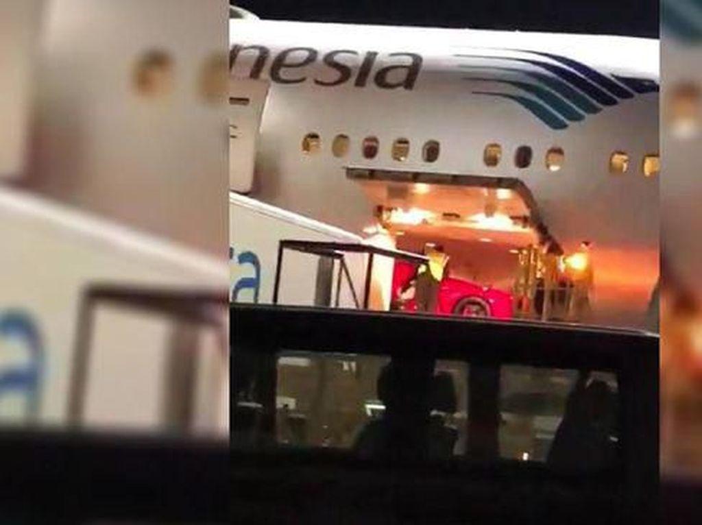 Soal Mobil Ferrari di Dalam Pesawat, Garuda Indonesia Buka Suara