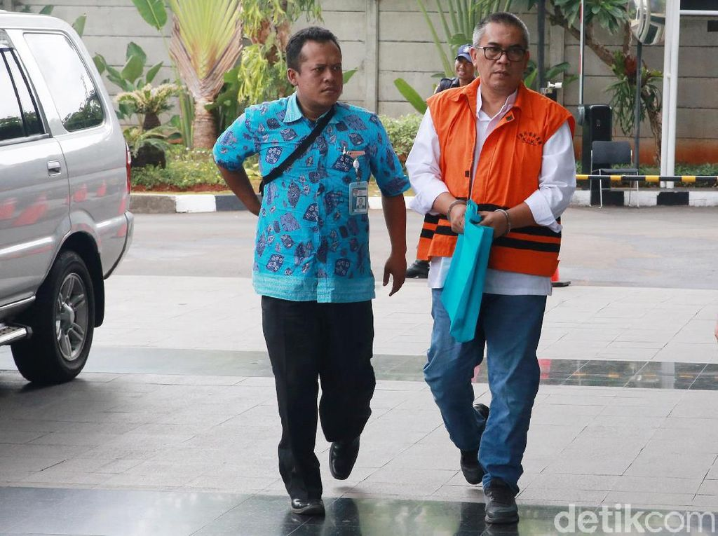 KPK Eksekusi Penyuap Bupati Muara Enim ke Lapas Palembang